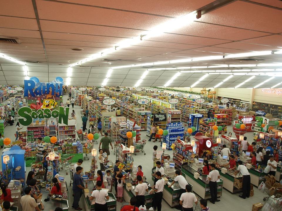 Retail Market Grocery Shop Supermarket Store